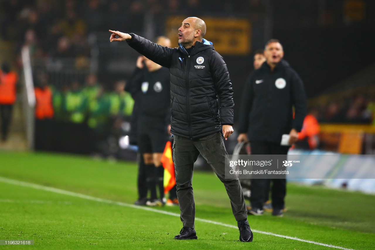 Pep Guardiola looks ahead to season opener
