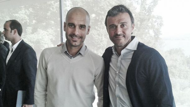 Guardiola y Luis Enrique, algo más que entrenadores