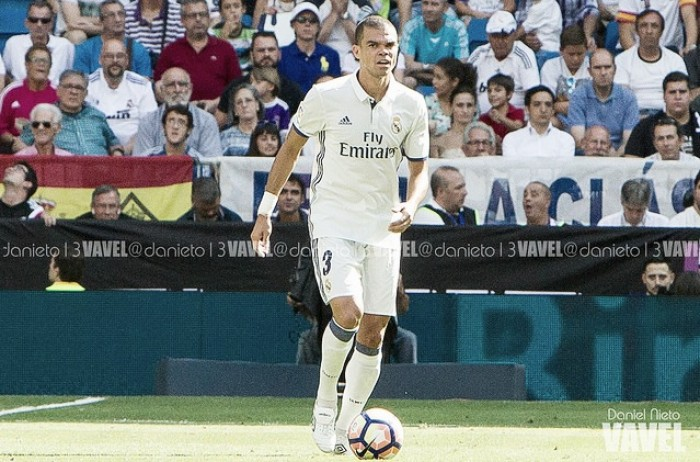 Pepe, nueva baja del Real Madrid para medirse al Villarreal
