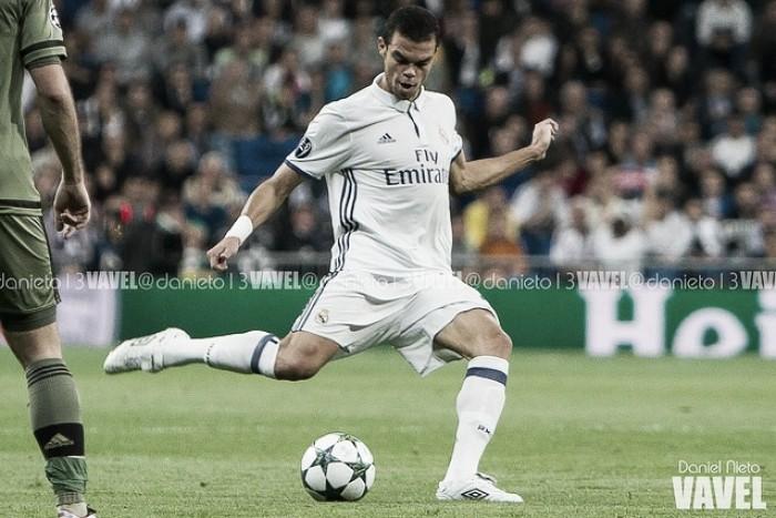 """Pepe: """"Queríamos marcar bastantes goles y lo hemos conseguido"""""""