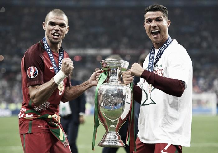 """Pepe revela pedido de Cristiano Ronaldo após lesão: """"Vençam por mim"""""""