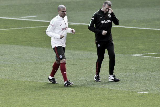 Portugal: Pepe não joga frente à Sérvia