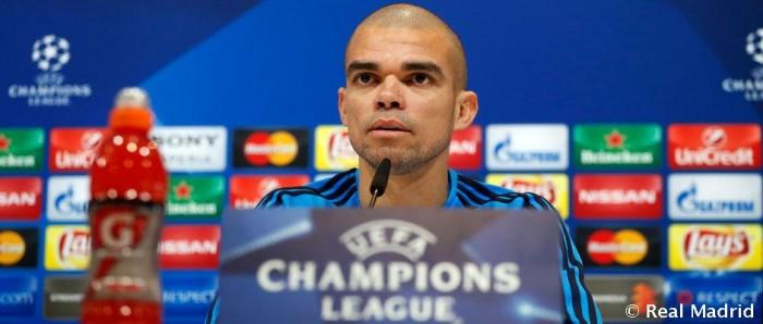 """Pepe: """"Zidane es uno de los mejores entrenadores del momento"""""""