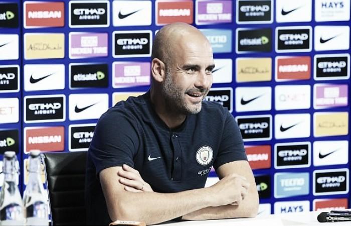 """Pep Guardiola: """"Estamos muy contentos, muy felices"""""""
