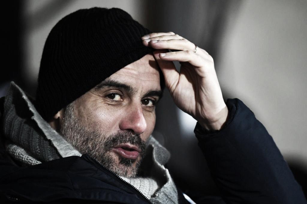 """Guardiola comemora classificação na Copa da Liga Inglesa: """"Estamos na final"""""""