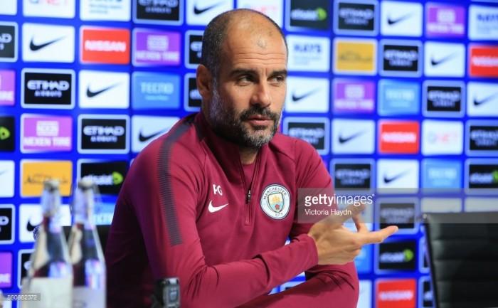 Guardiola hoping for Man City momentum