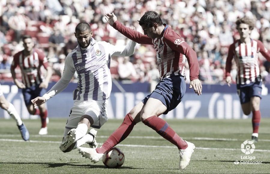 Resumen del Atlético de Madrid vs Real Valladolid (1-0)