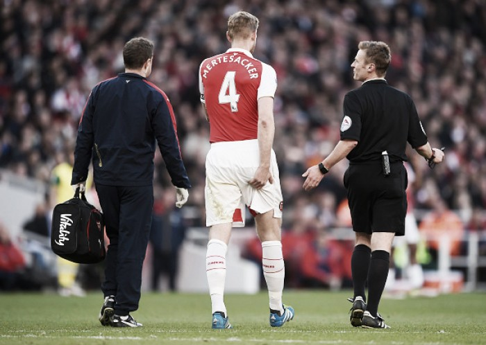 Opinion: Could Mertesacker's injury be turning point for Arsenal?