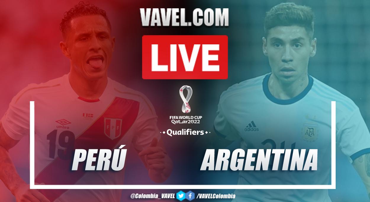 Resultado, resumen y goles de Perú vs Argentina (0-2) por la cuarta fecha de las Eliminatorias Sudamericanas a Catar 2022