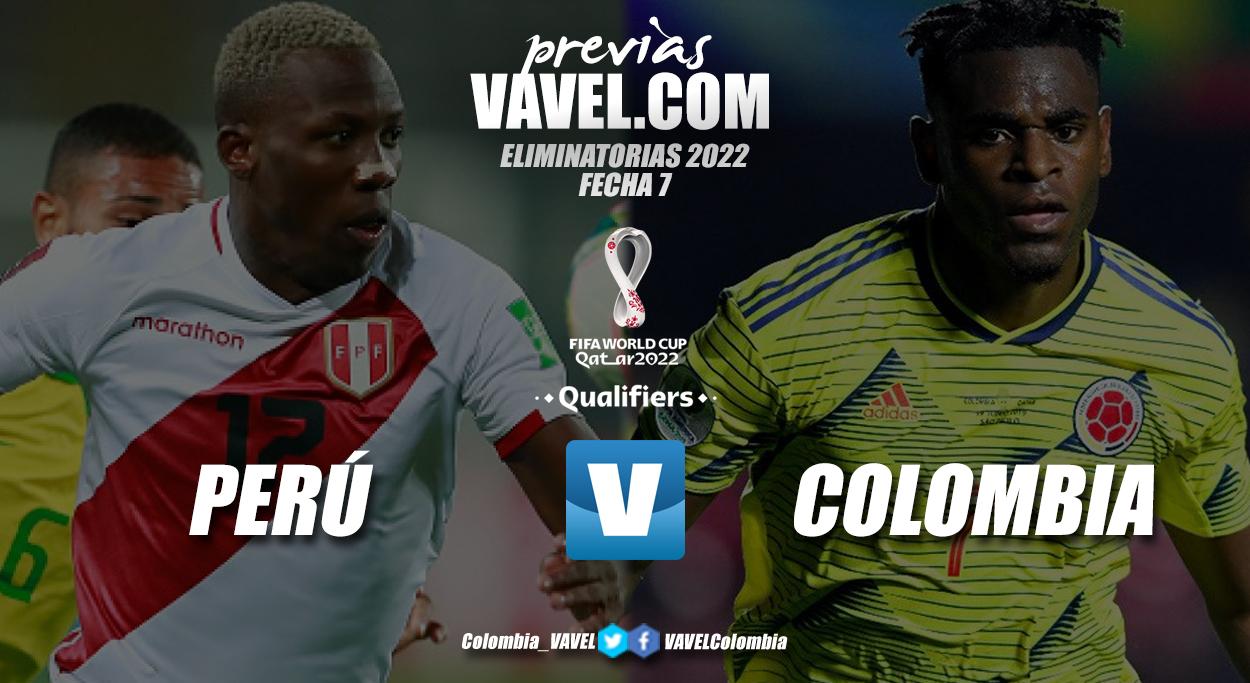 Previa Perú vs Colombia: un duelo de necesitados
