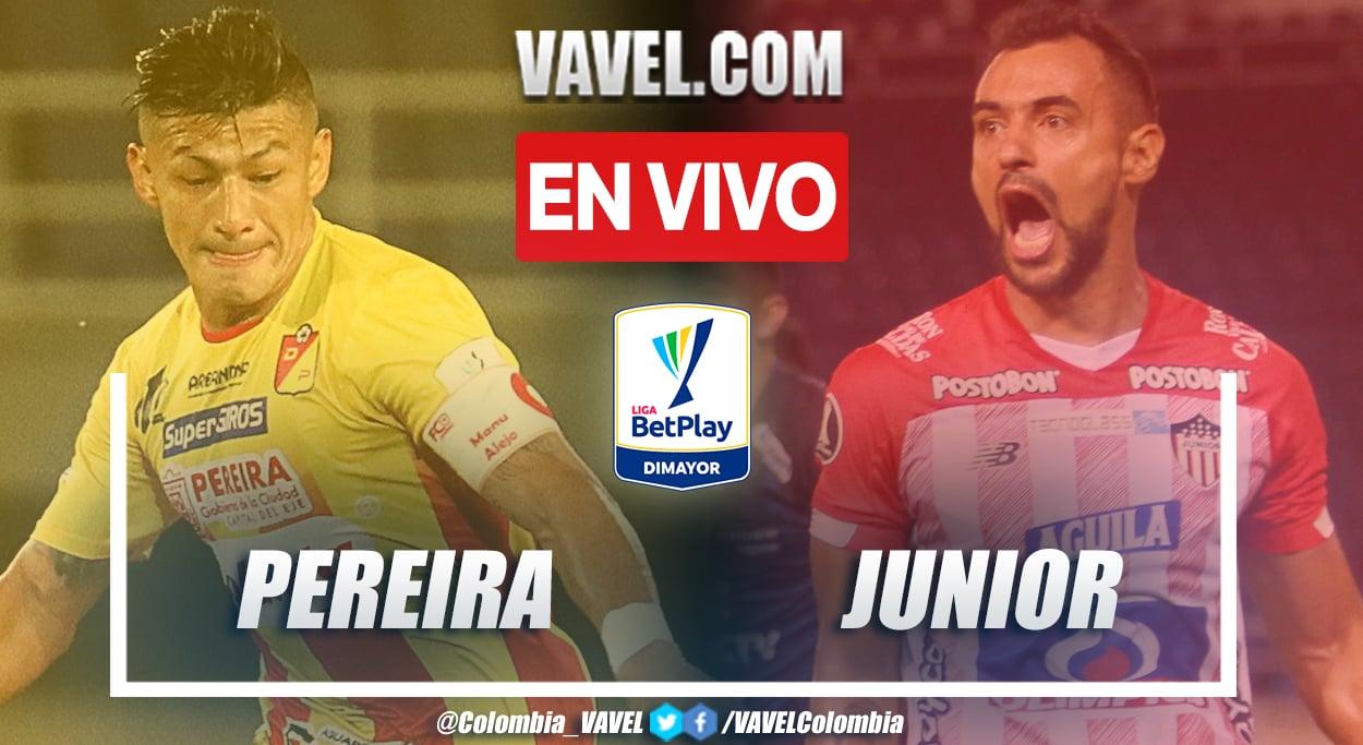 Resumen y goles Pereira 1-1 Junior en la fecha 9 por la Liga BetPlay 2021-II