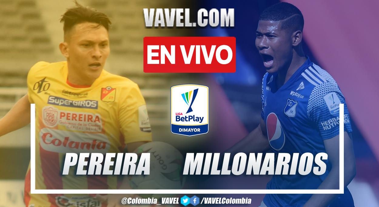 Resumen y gol: Pereira 1-0 Millonarios en la fecha 7 por Liga BetPlay 2021-II