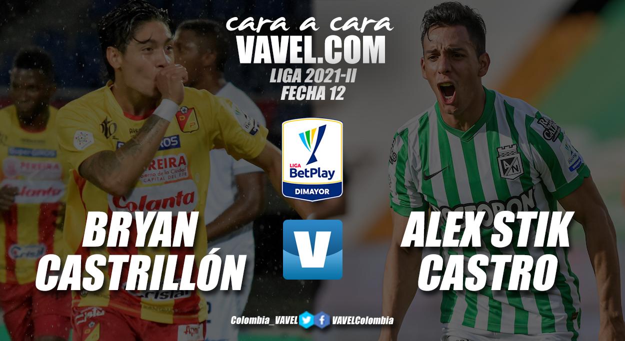 Cara a cara: Bryan Castrillón vs Alex Castro