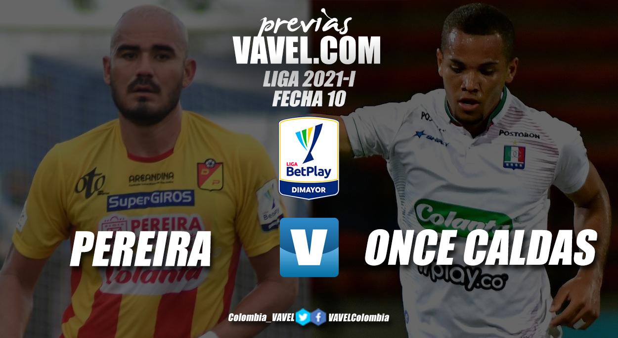 Previa Deportivo Pereira vs Once Caldas: un clásico lleno de necesidades