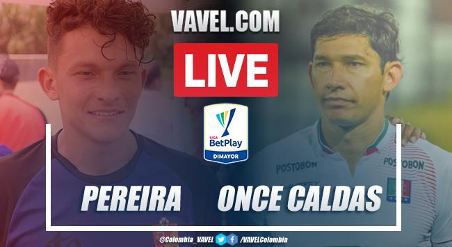 Resumen y goles: Deportivo Pereira 1-3 Once Caldas por la fecha 7 de la Liga BetPlay 2020-I