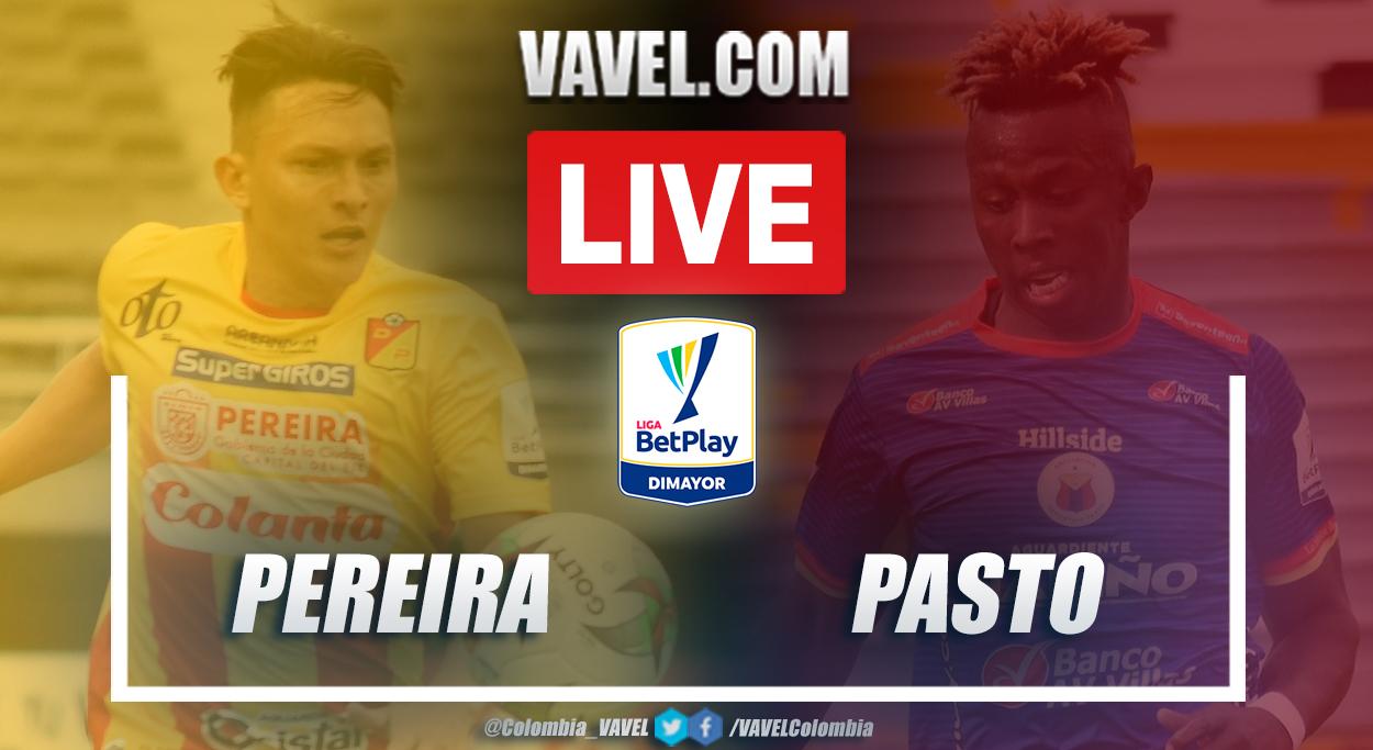 Resumen Pereira vs. Pasto (4-2) en la fecha 19 por Liga BetPlay 2021-I
