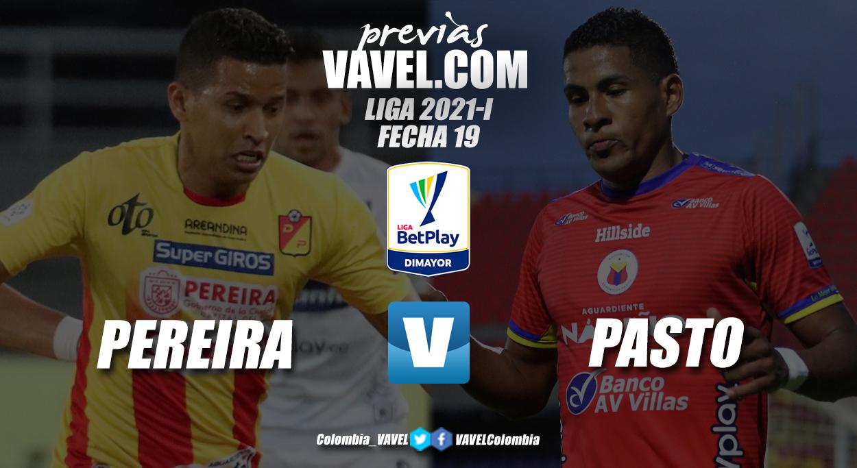 Previa Deportivo Pereira vs Deportivo Pasto: Partido por la permanencia y la clasificación