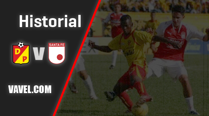 Historial Independiente Santa Fe vs. Deportivo Pereira: los 'leones' lideran los números