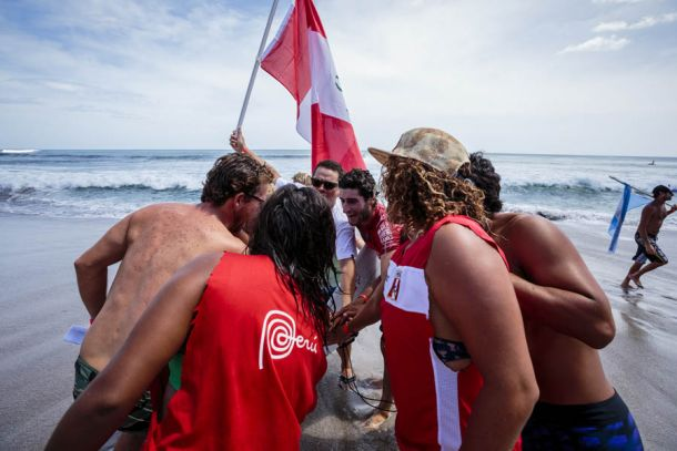 Peruanos siguen firmes en el Mundial ISA