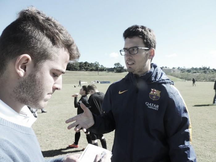 """Entrevista VAVEL: Agustín Peraita """"Aqui no Camp você verá o mesmo treinamento dos profissionais"""""""