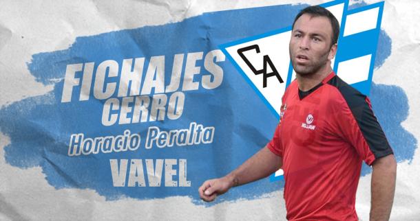 Horacio Peralta es el primer fichaje de Cerro