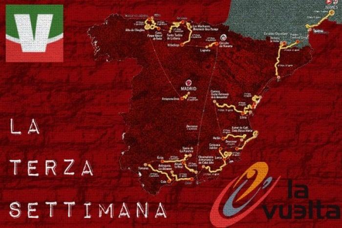 Vuelta a España 2017, il percorso della terza settimana: dalla crono individuale a Madrid