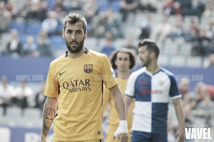 """Entrevista. Alberto Perea: """"Me enteré en Twitter de que no seguiría en el Barcelona B"""""""