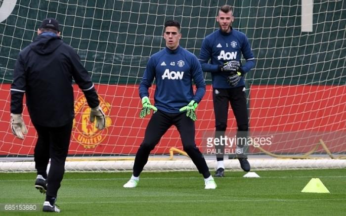 Goalkeeper Joel Pereira hoping to impress José Mourinho on pre-season with Man United