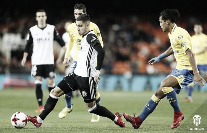 Andreas Pereira, sin dejar de mirar a Mestalla