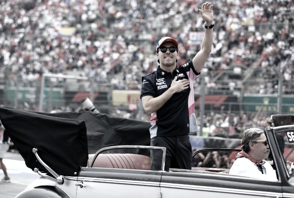 """""""Melhor do resto"""", Pérez diz que corrida no México foi como uma vitória para ele"""