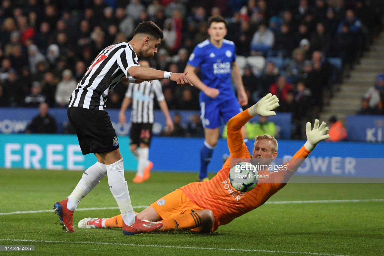 Leicester City 0-1 Newcastle United: Resolute Magpies all but confirm Premier League safety