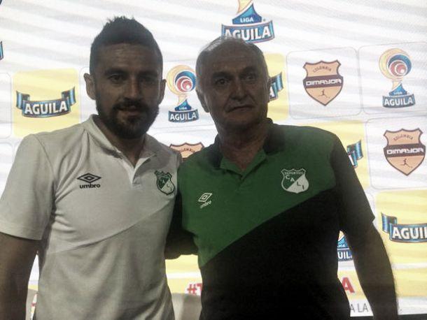 """Andrés Pérez: """"Estoy contento por disfrutar otra final, y poder cumplir un sueño"""""""