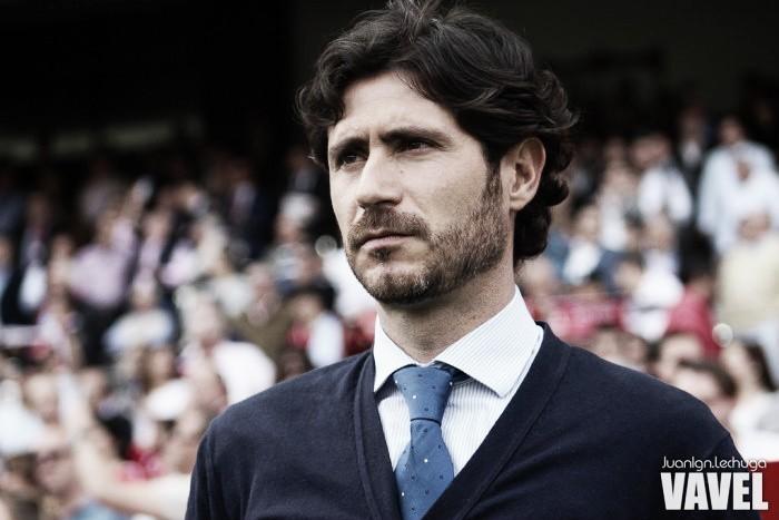 Víctor Sánchez del Amo, poco tiempo como entrenador, pero apunta alto