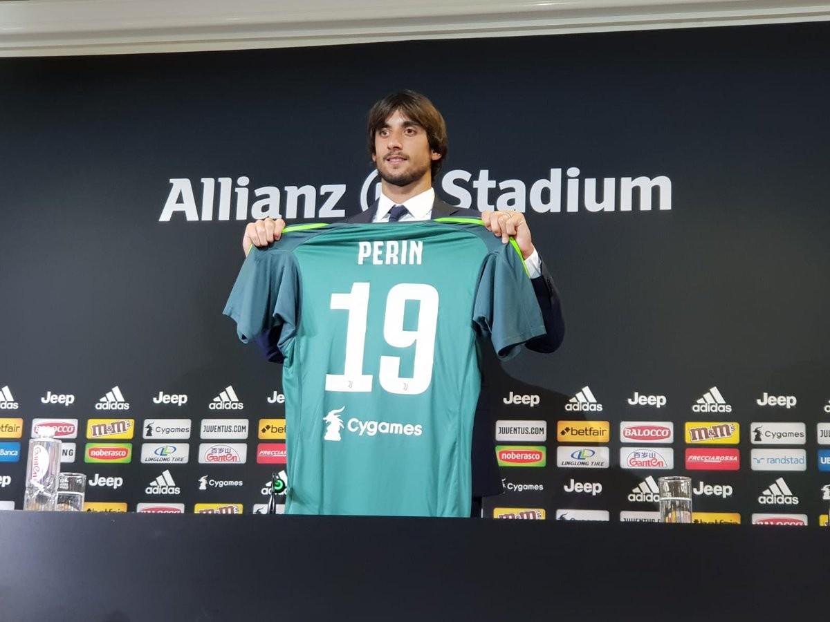 Seconda Maglia Juventus MATTIA PERIN