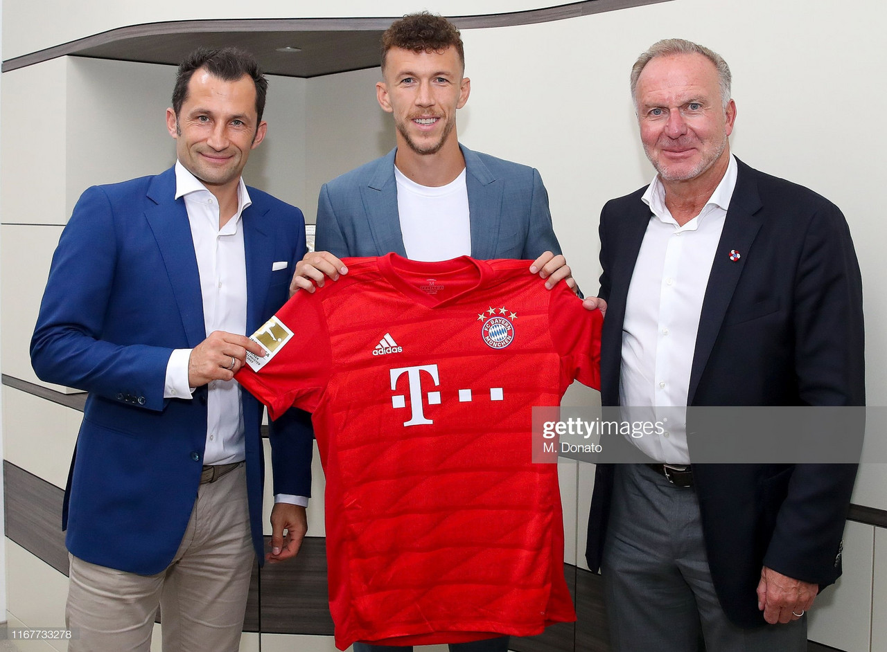 Ivan Perisic completes Bayern Munich loan move