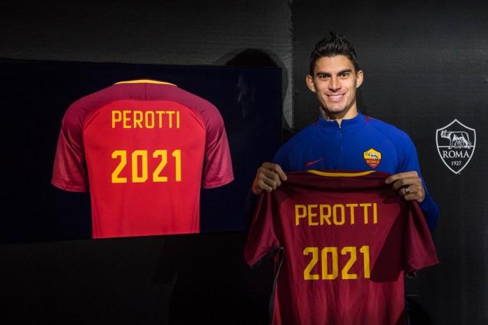 Roma-Perotti, ufficiale il rinnovo fino al 2021