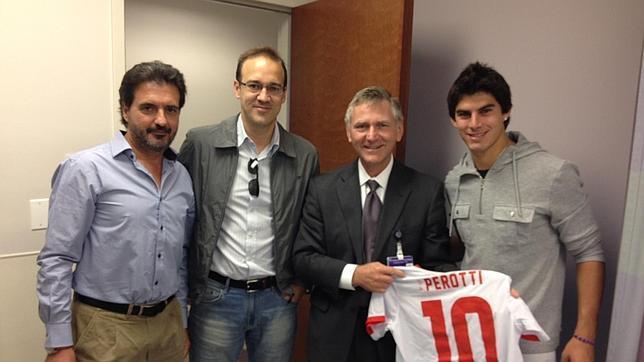 Perotti hará la primera fase de recuperación en Argentina