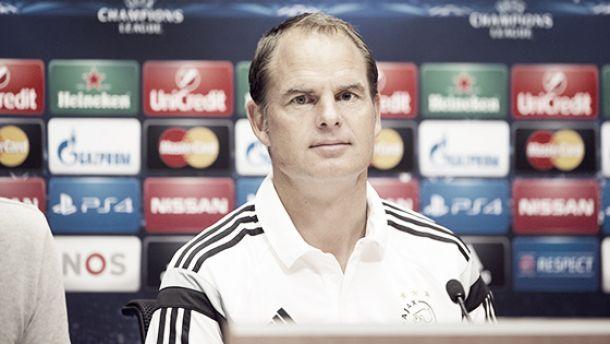 De Boer: ''Vamos a ser una molestia''