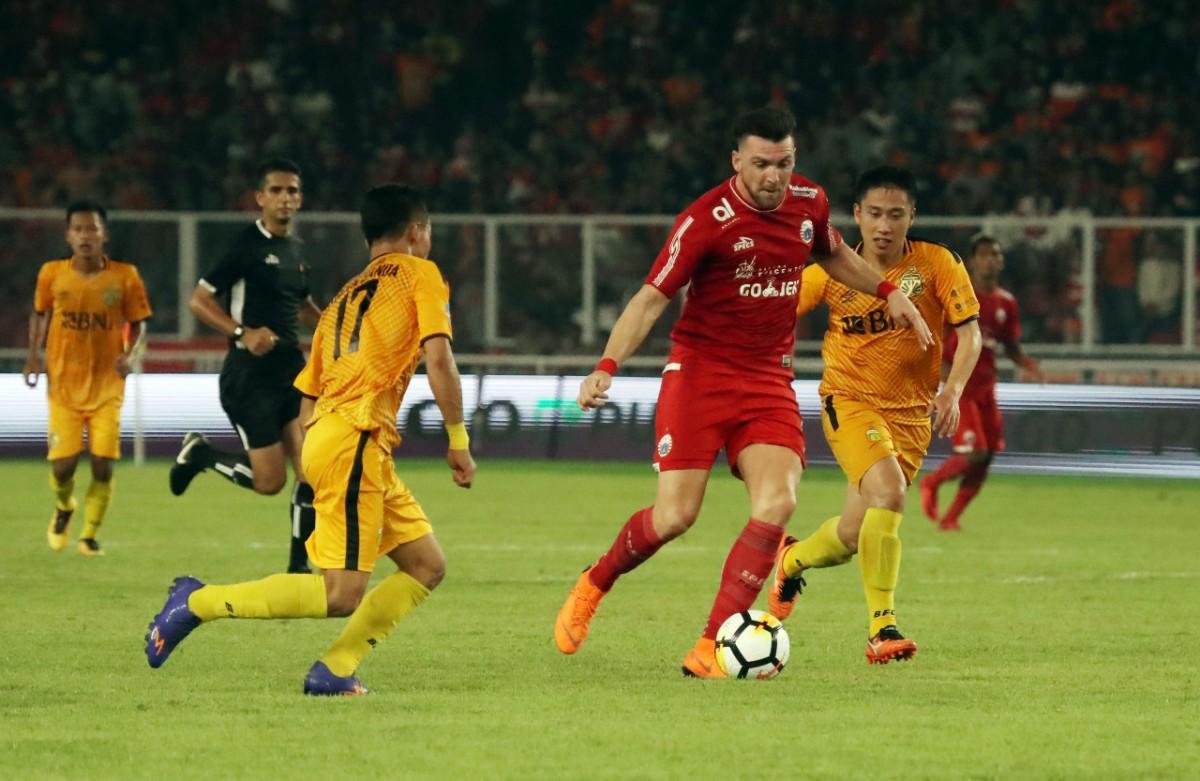 Lupakan Kekalahan dari MU, Persija Fokus Piala AFC
