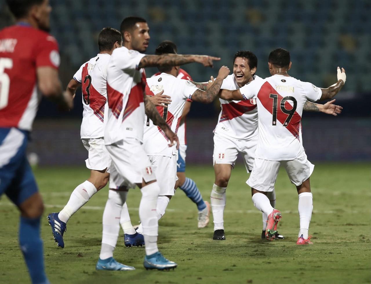 Perú, semifinalista de la Copa América 2021