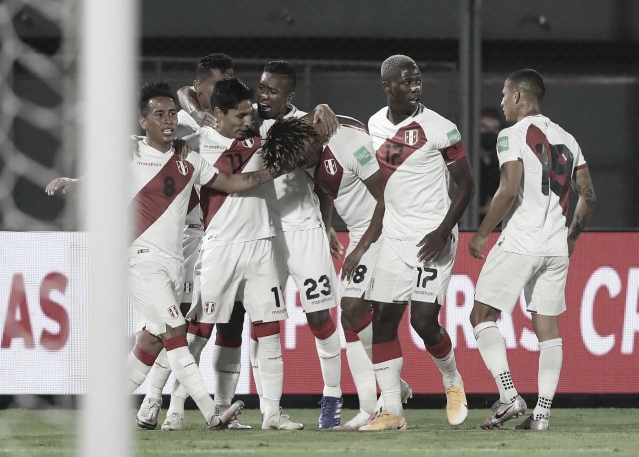 Foto: Divulgação / Seleção peruana de futebol