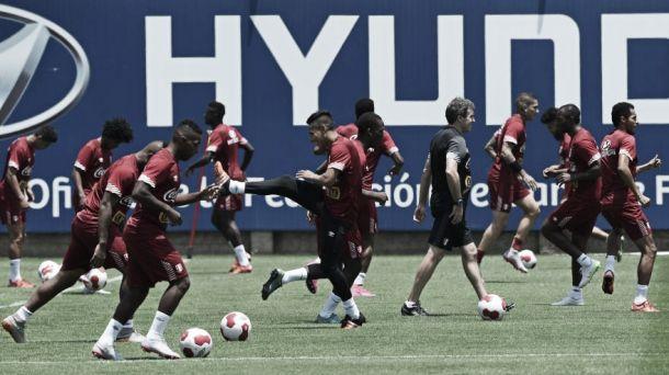 Selección Peruana concluyó segundo día de entrenamientos