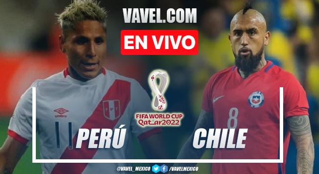 Goles y Resumen del Perú 2-0 Chile en Eliminatorias rumbo a Catar 2022