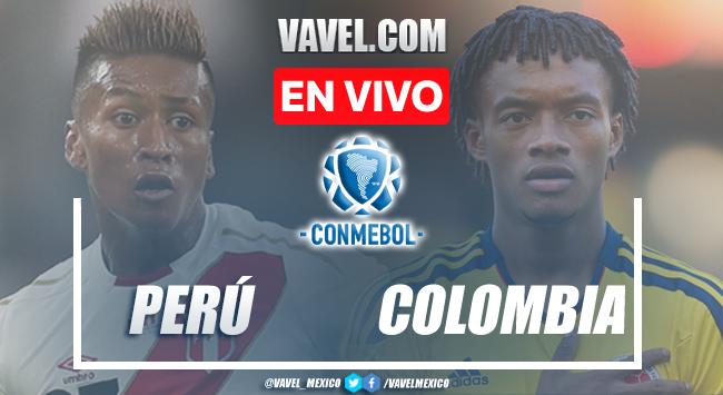 Goles y resumen del Perú 0-3 Colombiaen Eliminatorias CONMEBOL 2021
