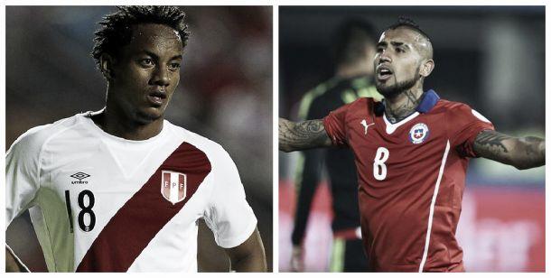Perú - Chile: Un clásico con poco de 'Pacífico' en la segunda fecha de las Eliminatorias