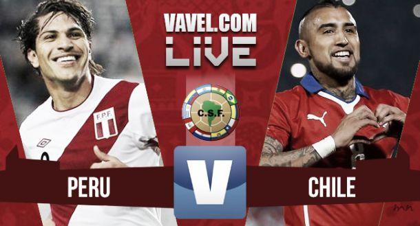 Resultado Perú - Chile en Eliminatorias 2018 (3-4)