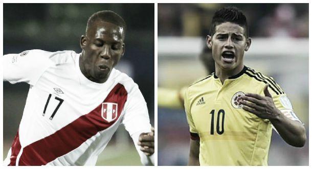 Resultado Colombia - Perú en amistoso 2015 (1-1)