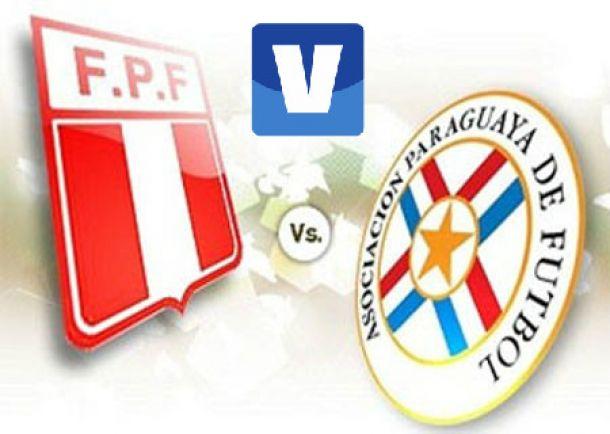 Resultado Perú - Paraguay en elSudamericano Sub-20 2015 (1-1)