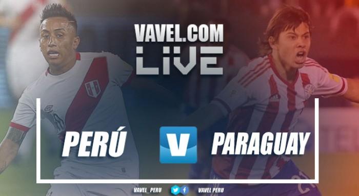 Resultado Perú vs Paraguay en partido amistoso (1-0)
