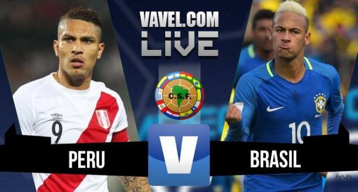 Resultado Peru x Brasil nas Eliminatórias da Copa do Mundo (0-2)